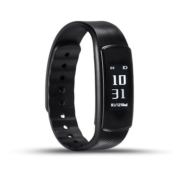 IWOWN I6 HR smartband Heart Rate Monitor Smart bracelet Sport Wristband Bluetooth 4.0 Smart Band Fitness Tracker for IOS Android (Black) - JumboShoppers