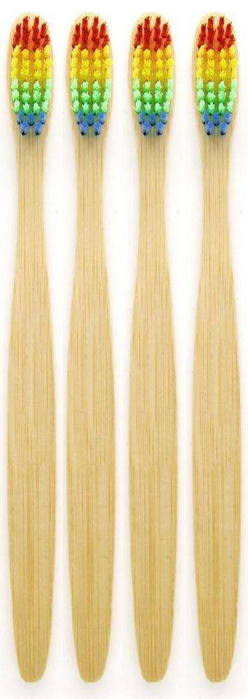 4 Brosses à dents  Eco-Responsable | Doony