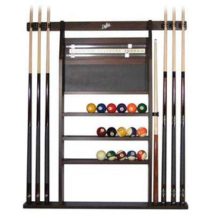 Dufferin 4 in 1 Combo Cue Rack