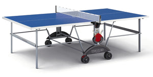 KETTLER TOP STAR XL OUTDOOR TENNIS TABLE WITH WEATHERPROOF NET SET