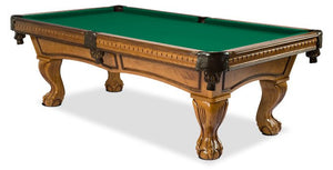 MAJESTIC PINACLE OAK POOL TABLE