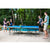 JOOLA DRIVE OUTDOOR TENNIS TABLE WITH WEATHERPROOF NET SET (6MM THICK)