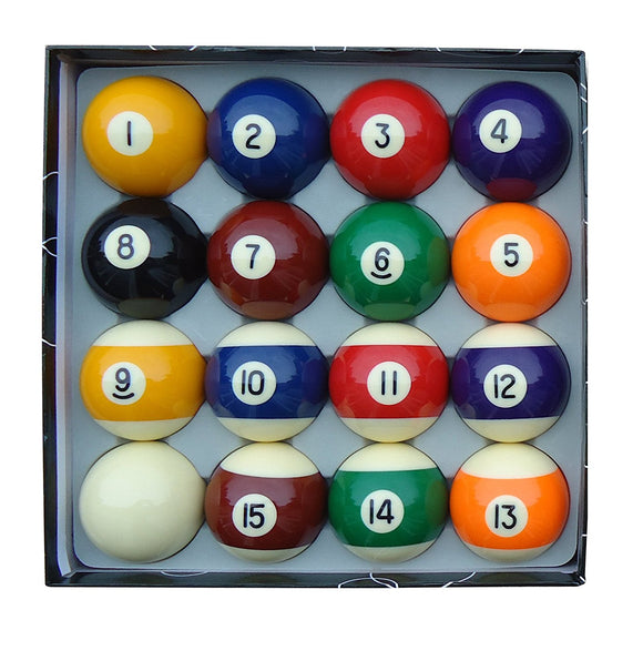 Pool Ball Set 2 1/4