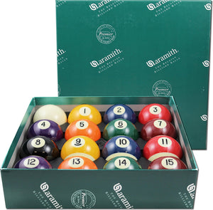 Aramith Premier Pool balls Set 2 1/4'