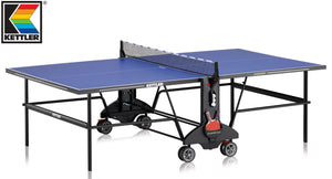 KETTLER CHAMP 3.0 INDOOR TENNIS TABLE WITH NET SET (19MM THICK)