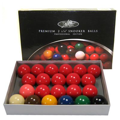 Premium 2 1/4'' Snooker Balls Set