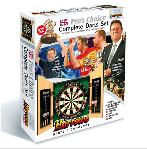 Harrows Pro Choice Darts Gift Set