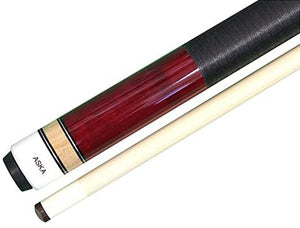 ASKA L2 Pool Cue Stick, 58-Inches Hard Rock Canadian Maple, 5/16x18 Joint, 13mm Hard Tip, Different Colors