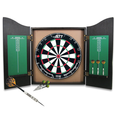 Jett Black Knight Dartboard Set