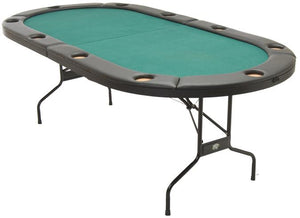 TEXAS HOLD'EM FOLDING POKER TABLE