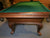 8' PREOWNED OLHAUSEN POOL TABLE INSTALLED WITH ACCESSORIES
