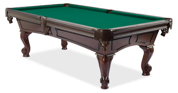 MAJESTIC AMBOISE WALNUT POOL TABLE
