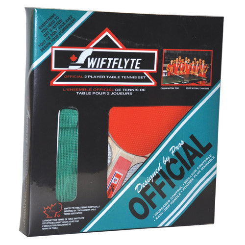 Swiftlyte 2 Player Official Table Tennis Set