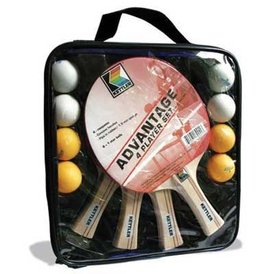 Kettler Advantage 4 Player Table Tennis Set