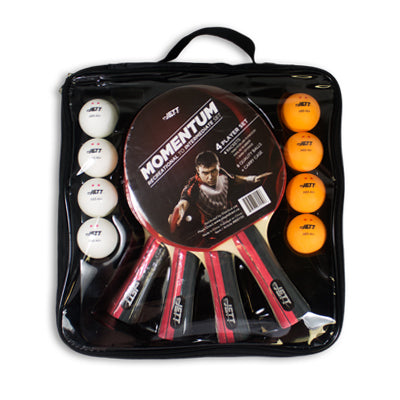 Jett Momentum 4 Player Table Tennis Set