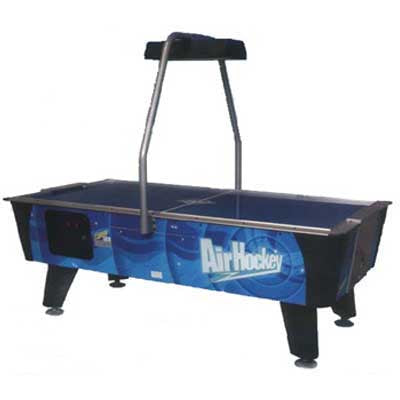 Dynamo Blue Streak 7' Coin Op Air Hockey