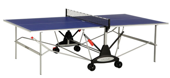 KETTLER STOCKHOLM INDOOR GREEN TENNIS TABLE WITH NET SET (19MM THICK)
