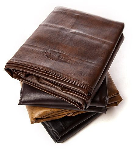 8' BROWN VINYL BILLIARD TABLE COVER