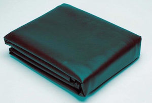BLACK VINYL  BILLIARD TABLE COVER 8'