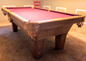 PREOWNED 7' OLHAUSEN AUGUSTA POOL TABLE DELIVERD AND INSTALLED