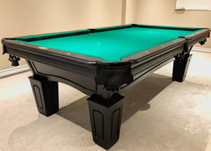 BERINGER SIERRA ESPRESSO POOL TABLE