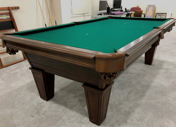 LEGACY ORFORD WALNUT  POOL TABLE  REGAL COLLECTION