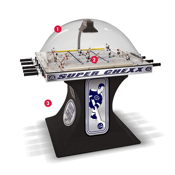 Super Chexx Pro Bubble Hockey