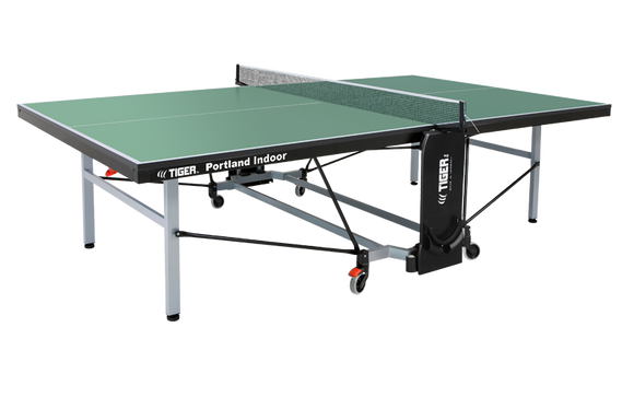 TIGER PORTLAND INDOOR TENNIS TABLE WITH NET SET (22MM THICK)