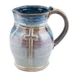Holbrook Stoneware - Old Rugged Cross Stoneware (Ceramic) Pitcher/Flagon