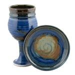 Barrel Sides Chalice and Paten Set
