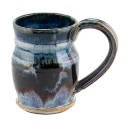 Holbrook Stoneware - 16-Ounce Stoneware (Ceramic) Barrel Mug, Pastel Multi-Color