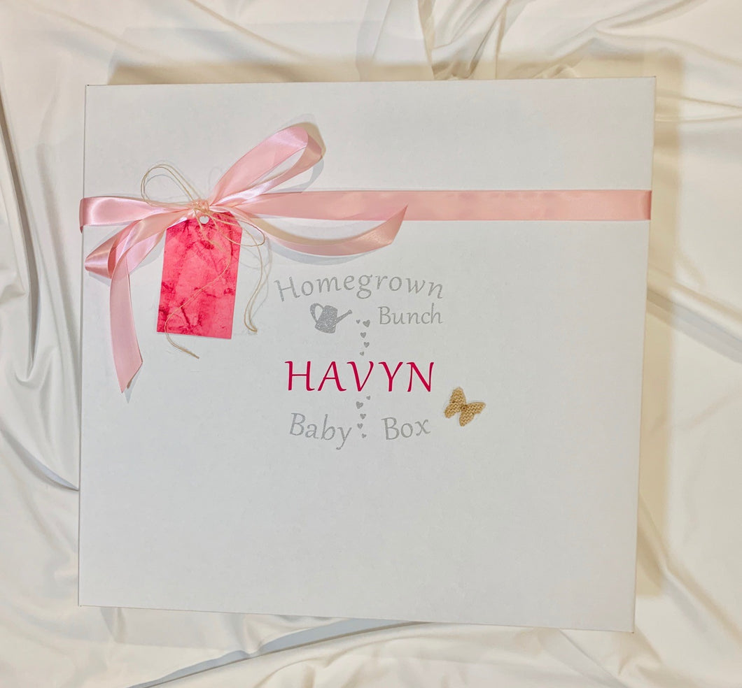 Baby gifts Melbourne. Personalised baby gifts that become a keepsake to last a lifetime.