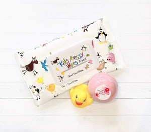 Every new mum needs these messy wipes as well as deserves a little pampering for herself with our bath bomb.