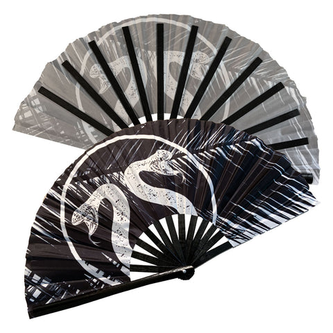 Black Japanese Hand Fan