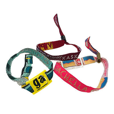 Woven Event Wristbands