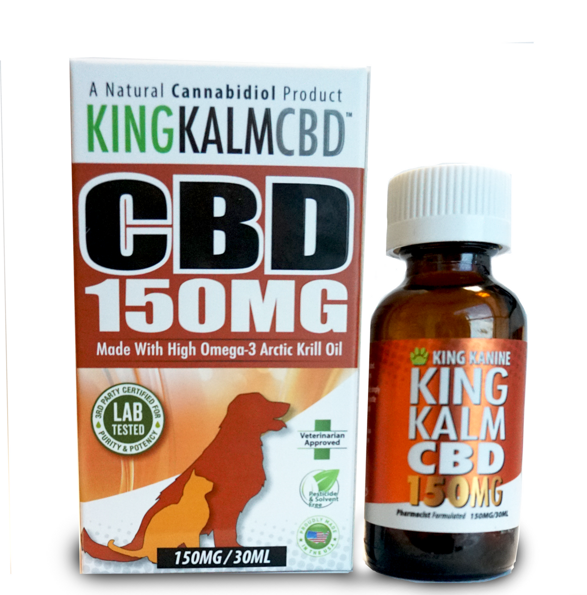 150 MG CBD with Krill Oil by King Kanine