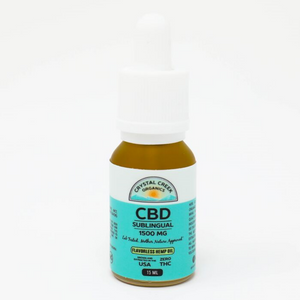 Flavorless Hemp CBD Oil 1500mg by Crystal Creek Organics