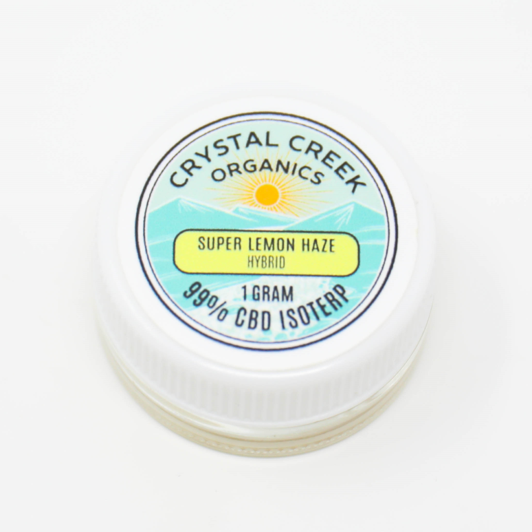 Super Lemon Haze CBD Concentrate 1000mg by Crystal Creek Organics