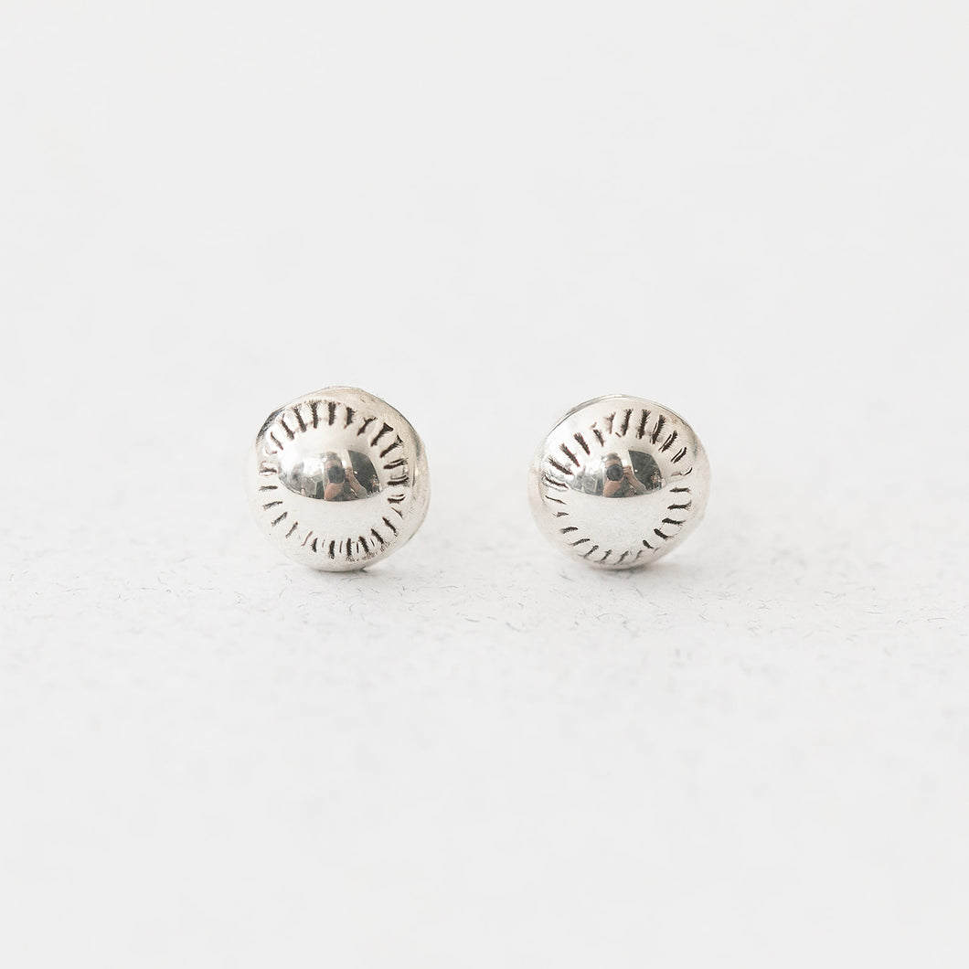 Sterling Sun Earring