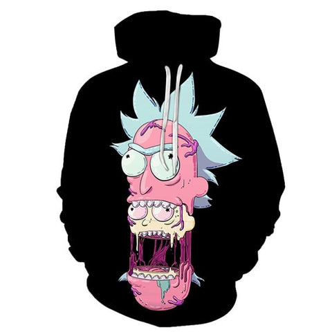 Rick and Morty 3D Hoodie