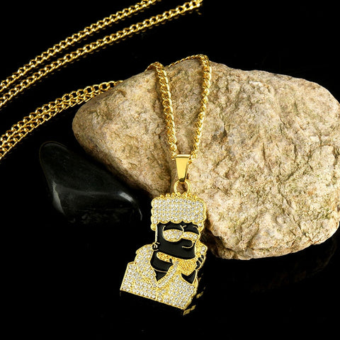 Bart Simpson Necklace - Rap-Wear