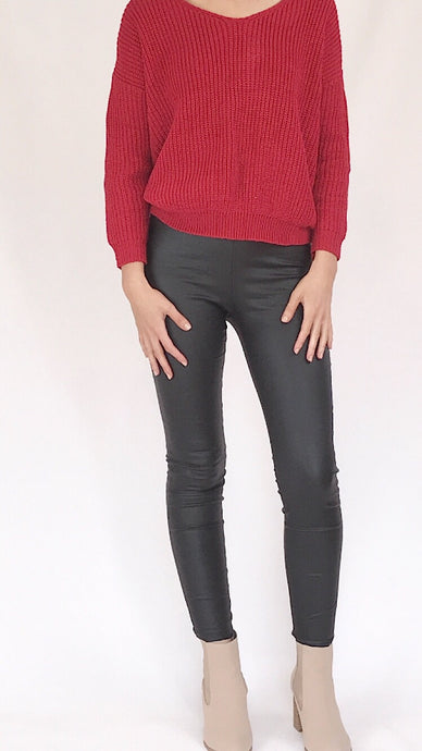 *SALE* DEMI PANTS - BLACK