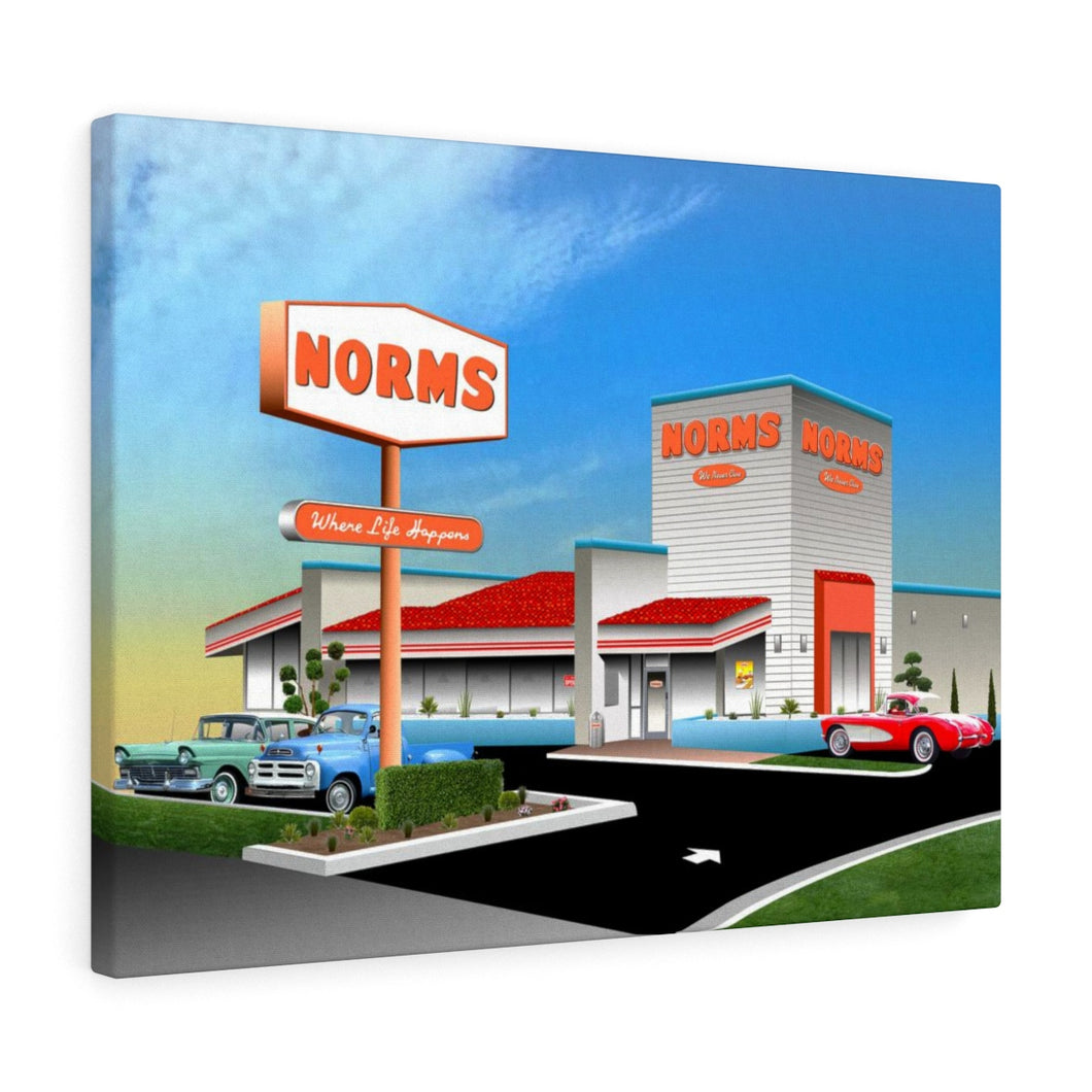Norms - Canvas Art