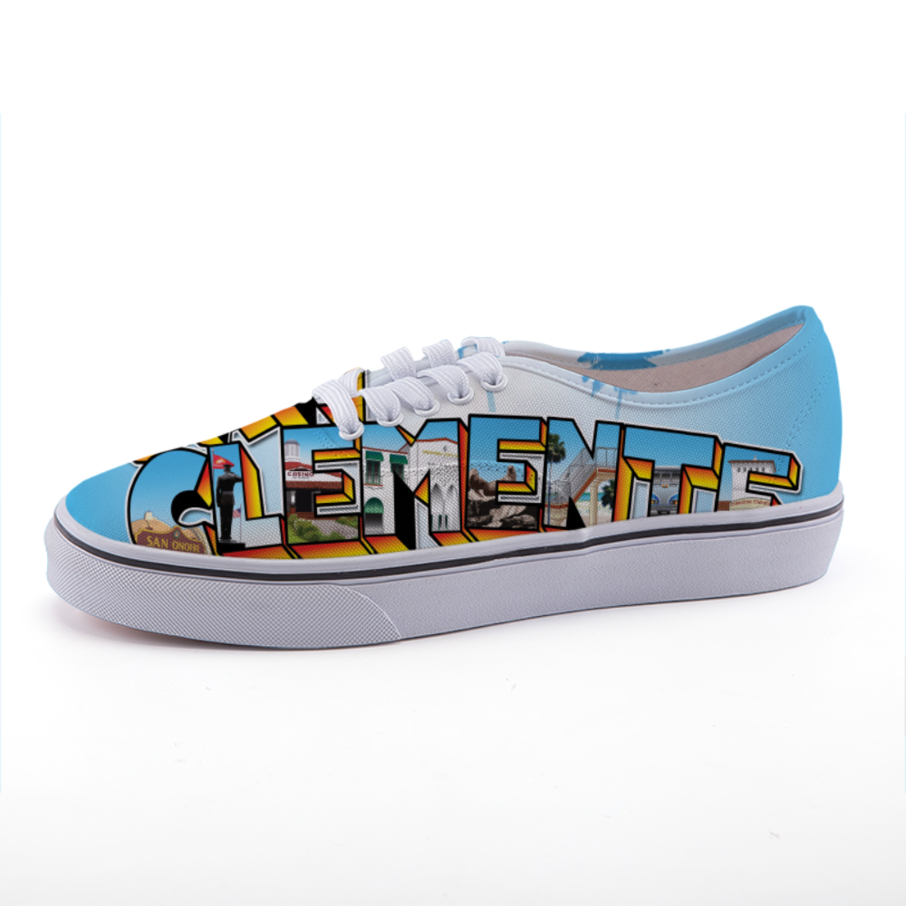 Greetings from San Clemente - Canvas Shoes