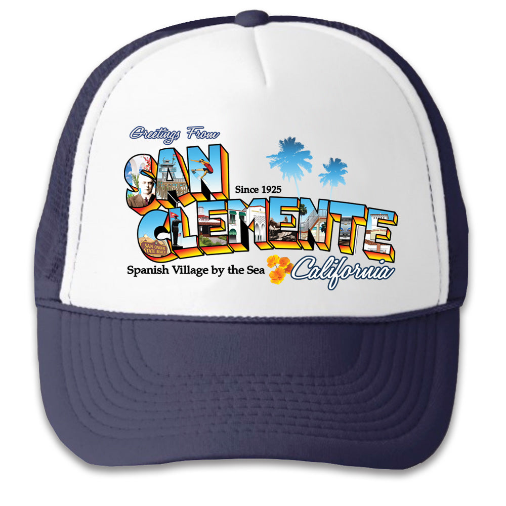 Greetings from San Clemente - Trucker Hat