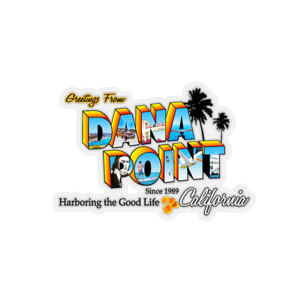 Greetings from Dana Point - Sticker
