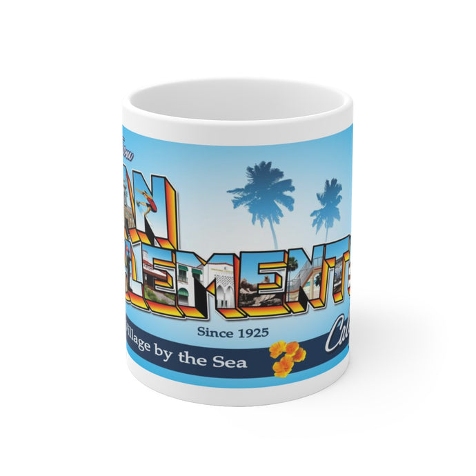 Greetings from San Clemente - Coffee Mug