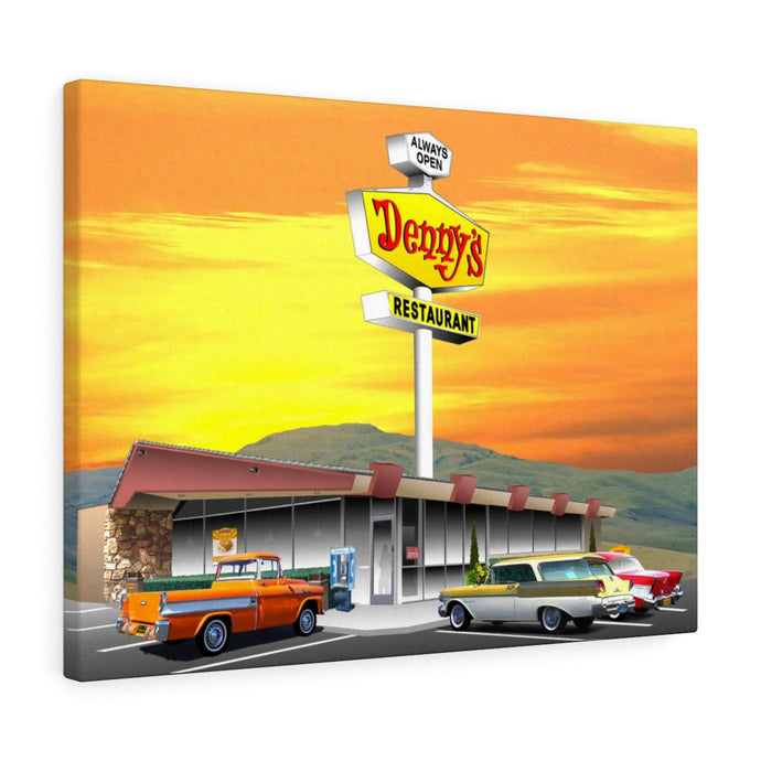 Denny's - Canvas Art
