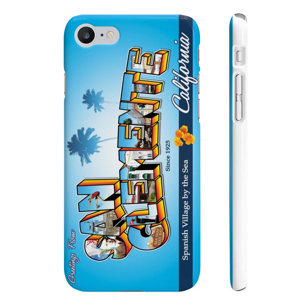 Greetings from San Clemente - Phone Case