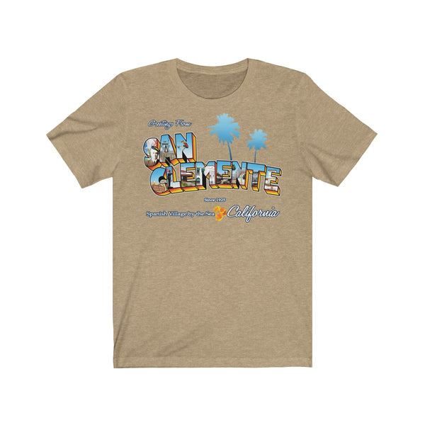 Greetings from San Clemente - Men's Shirt